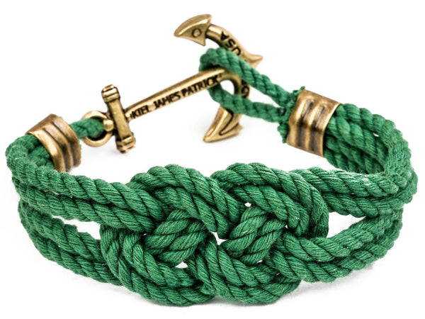 Captain Kennedy - Kiel James Patrick Anchor Bracelet Made in the USA
