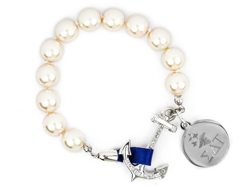 Charlotte - Sigma Delta Tau - Kiel James Patrick Anchor Bracelet Made in the USA