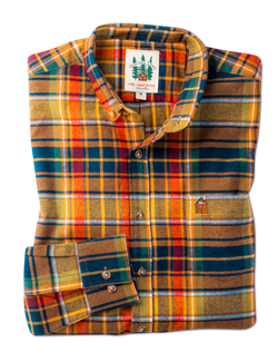 Woodstock Country Store Flannel Shirt