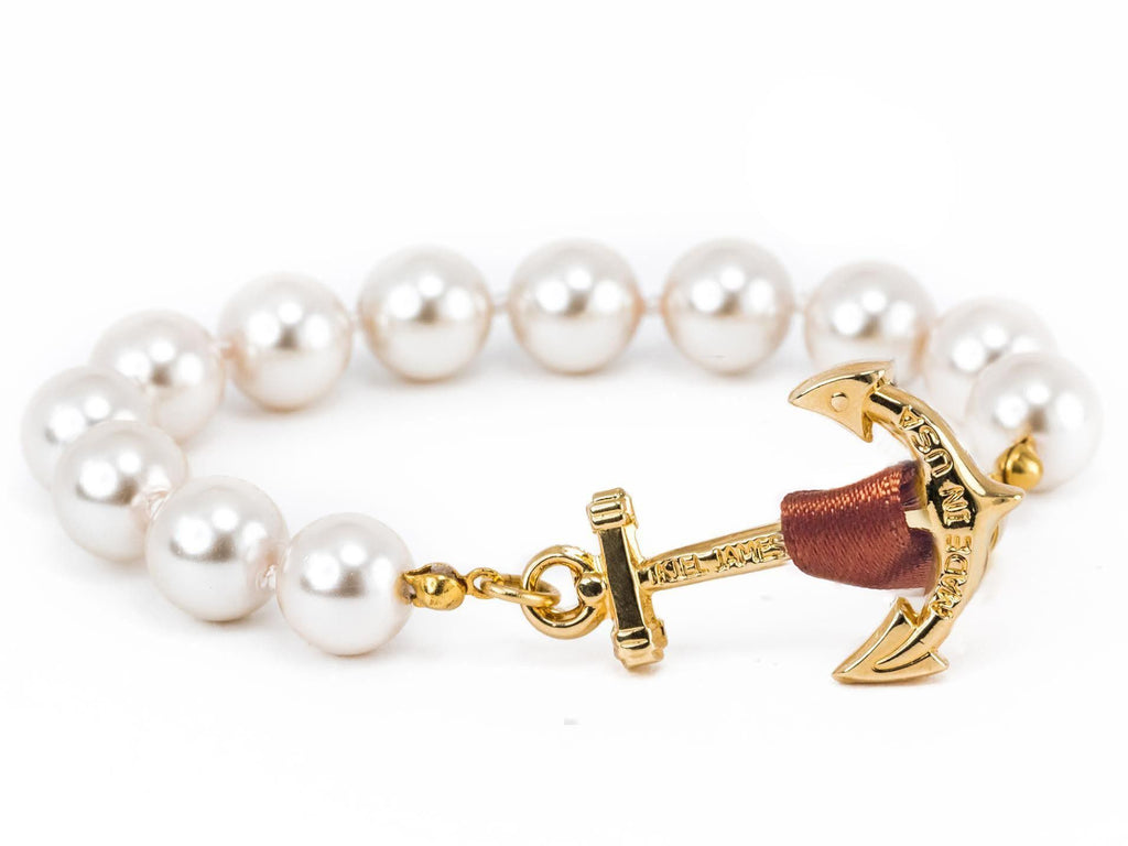Coco ChaPearl - Kiel James Patrick Anchor Bracelet Made in the USA