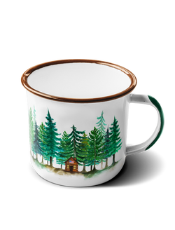 The Cozy Cabin Adventure Mug