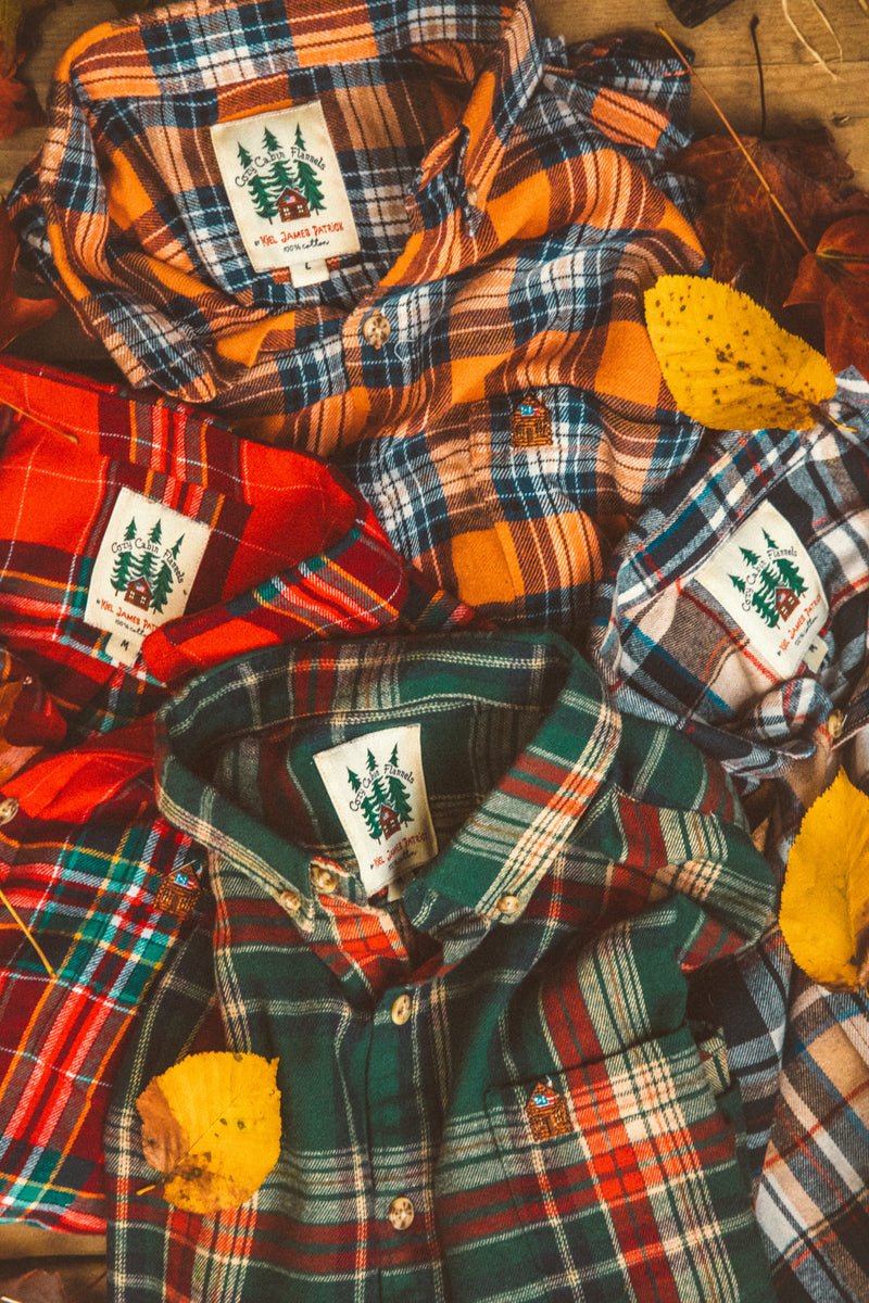 New England Apple Flannel Shirt