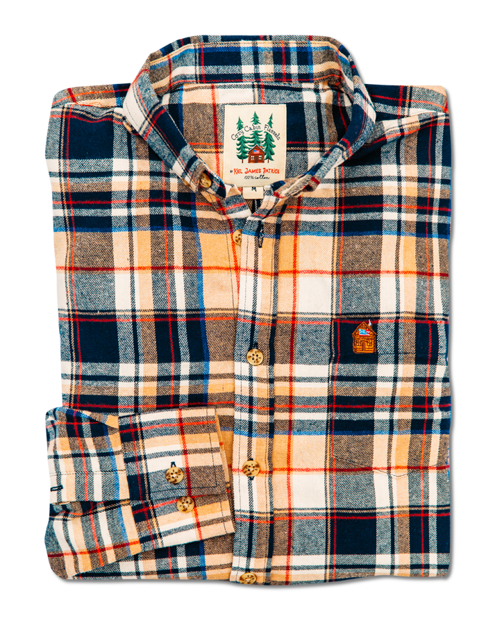 Acorn Harvest Flannel Shirt