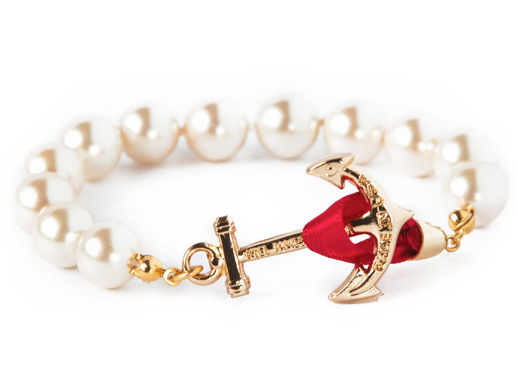 Darlin' Valentino - Kiel James Patrick Anchor Bracelet Made in the USA