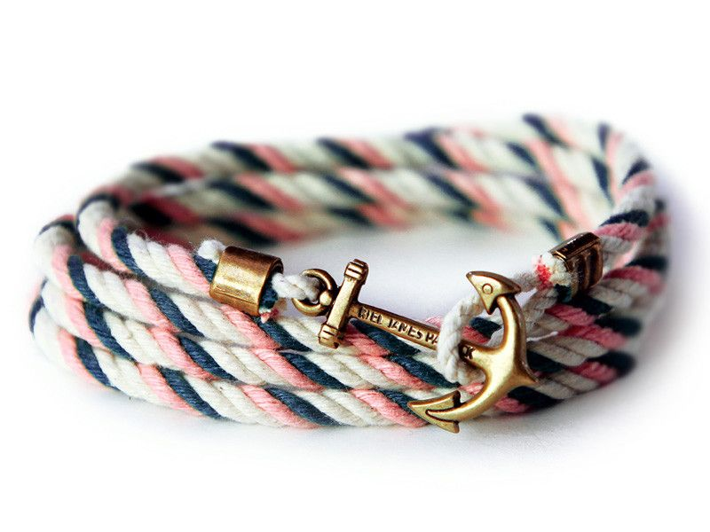 Drift Oak - Kiel James Patrick Anchor Bracelet Made in the USA