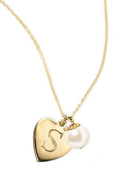 I Heart Pearls Gold - Kiel James Patrick Anchor Bracelet Made in the USA