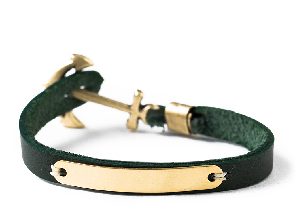 World Traveler's Bracelet - Green