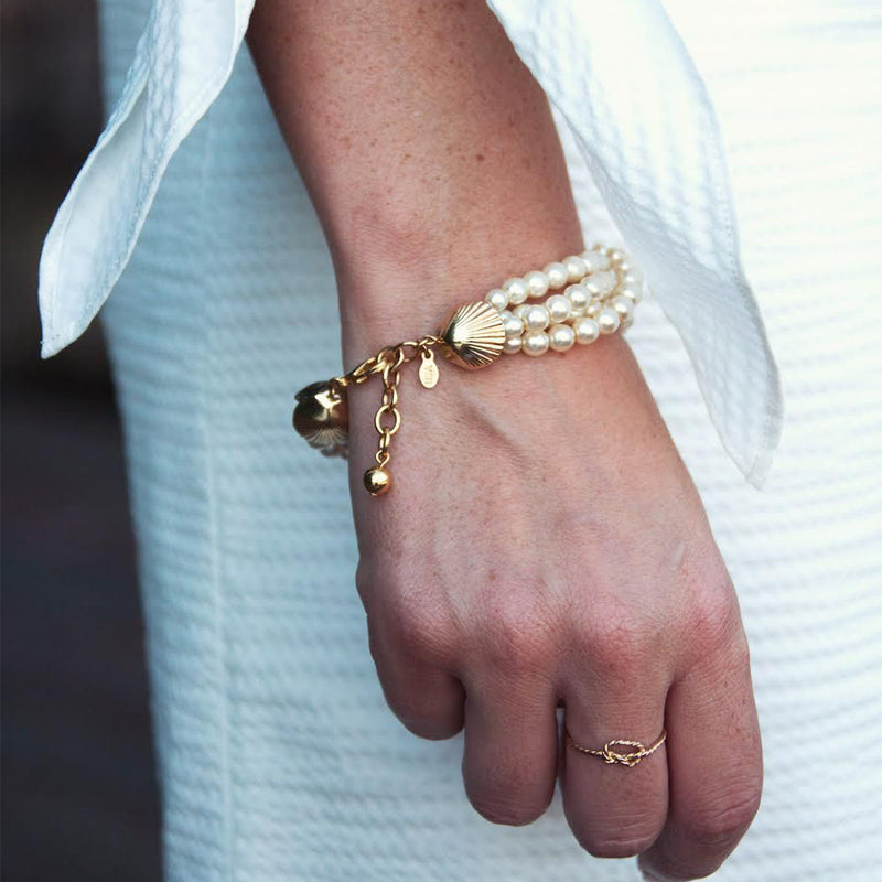 Jackie on the Cape - Kiel James Patrick Anchor Bracelet Made in the USA