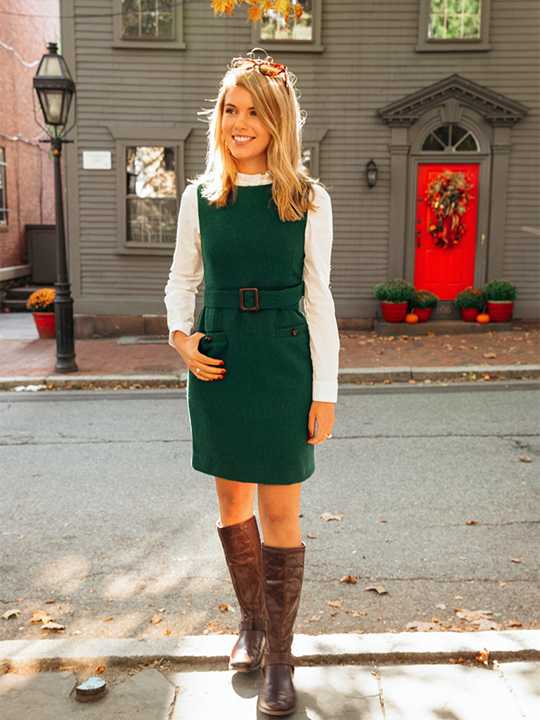 Laurel Belted Shift Dress