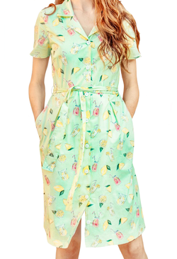 Freshly Squeezed Shirtdress