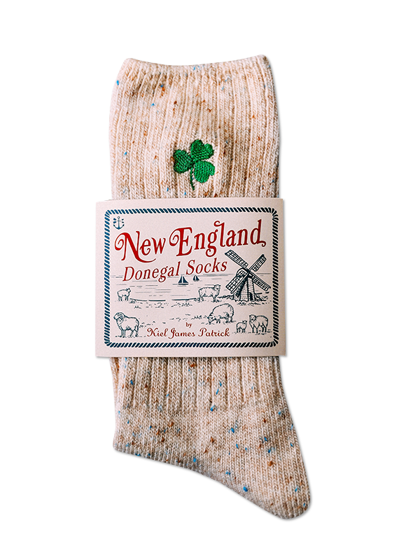Lucky Charm Donegal Socks