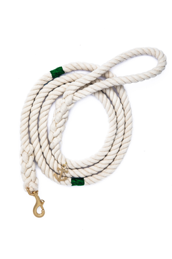 The Knotty Dog Leash - Green