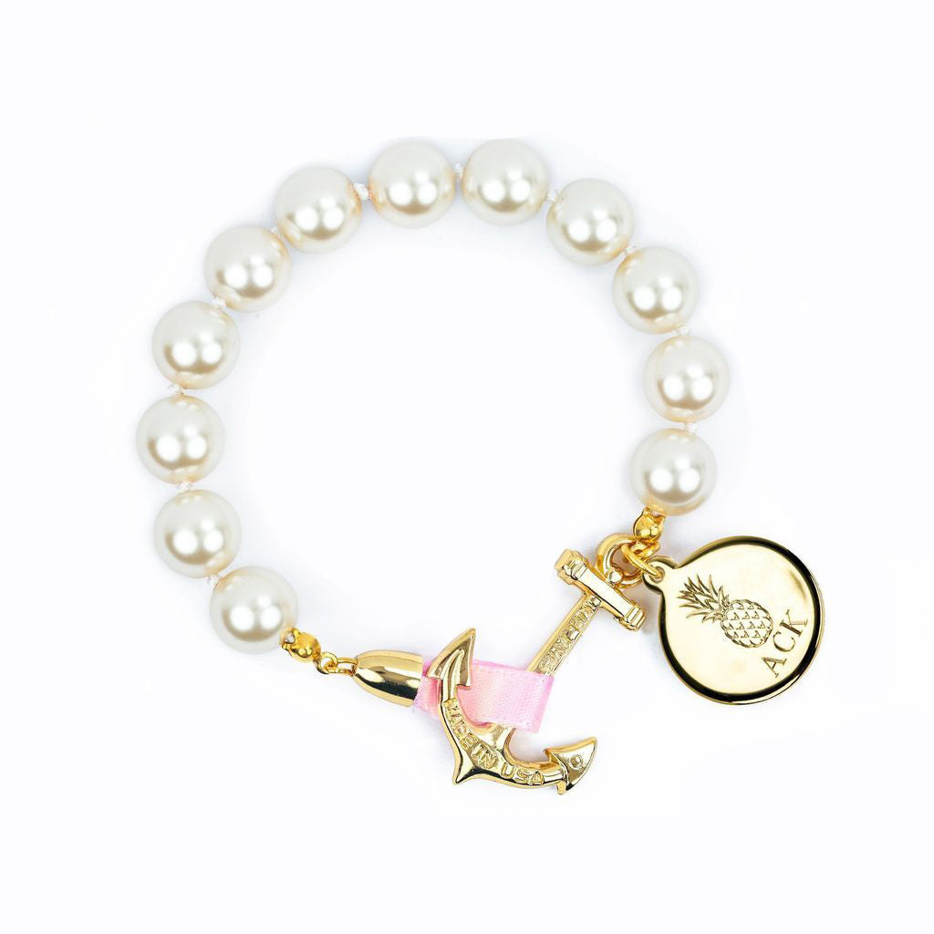 a7f84368823468 Anchor Atlantic Monogram - Kiel James Patrick Anchor Bracelet Made in the  USA