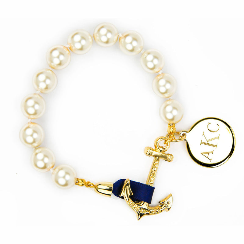 Anchor Atlantic Monogram - Kiel James Patrick Anchor Bracelet Made in the USA