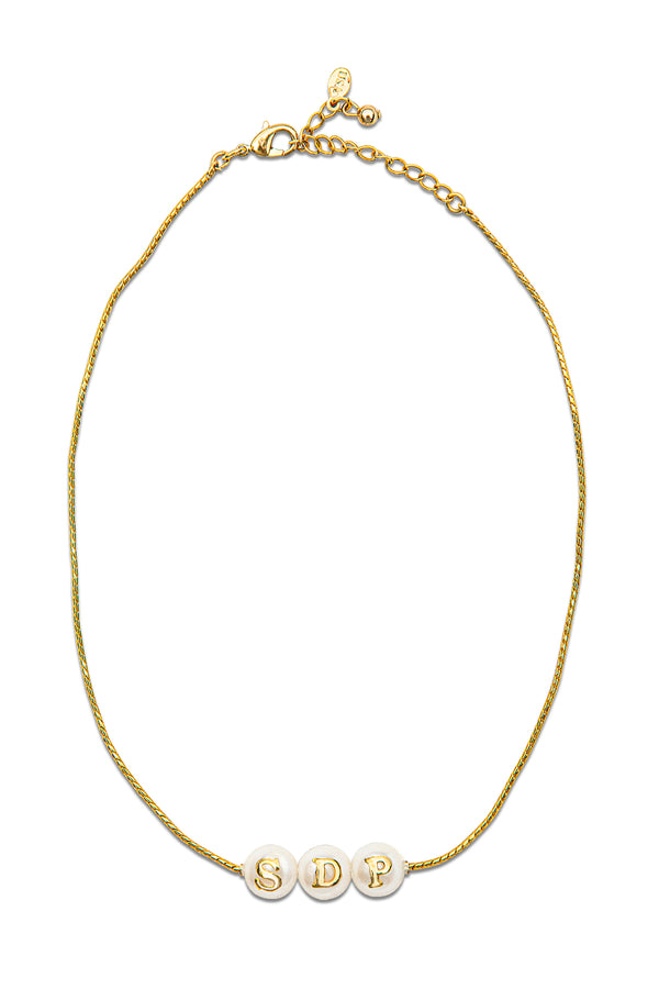 The Pearlsonalized Necklace