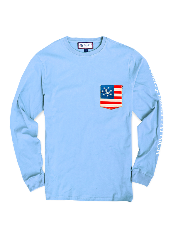 All American Sailor Shirt - Light Blue (Men's)
