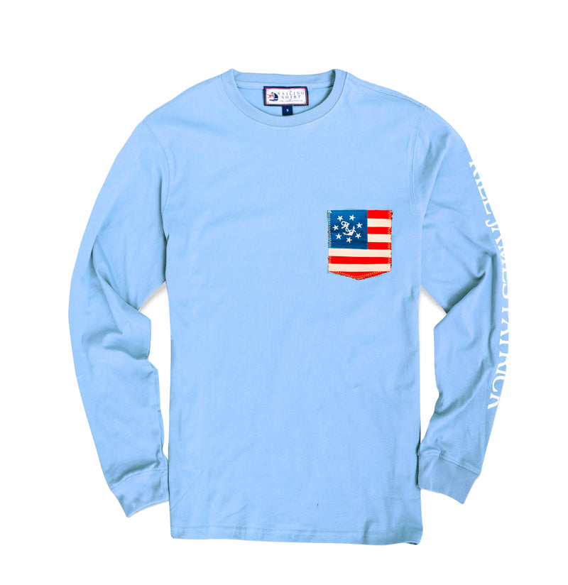 All American Sailor Shirt - Light Blue (Women's)