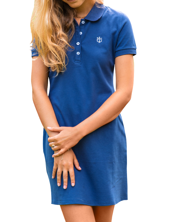 Jamestown Sail Polo Dress