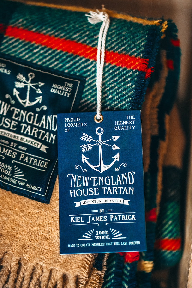 The New England House Tartan Blanket