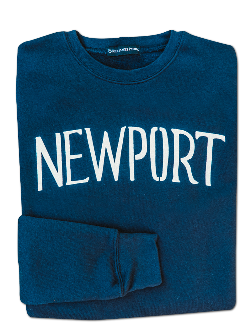Summer in Newport Sweatshirt - Navy