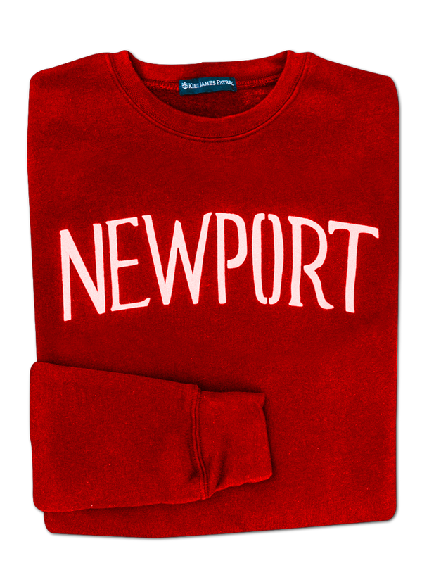 Summer in Newport Sweatshirt - Red