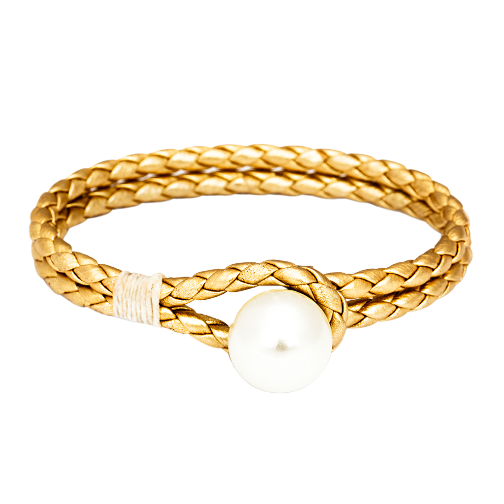 Pearl Knot Gold