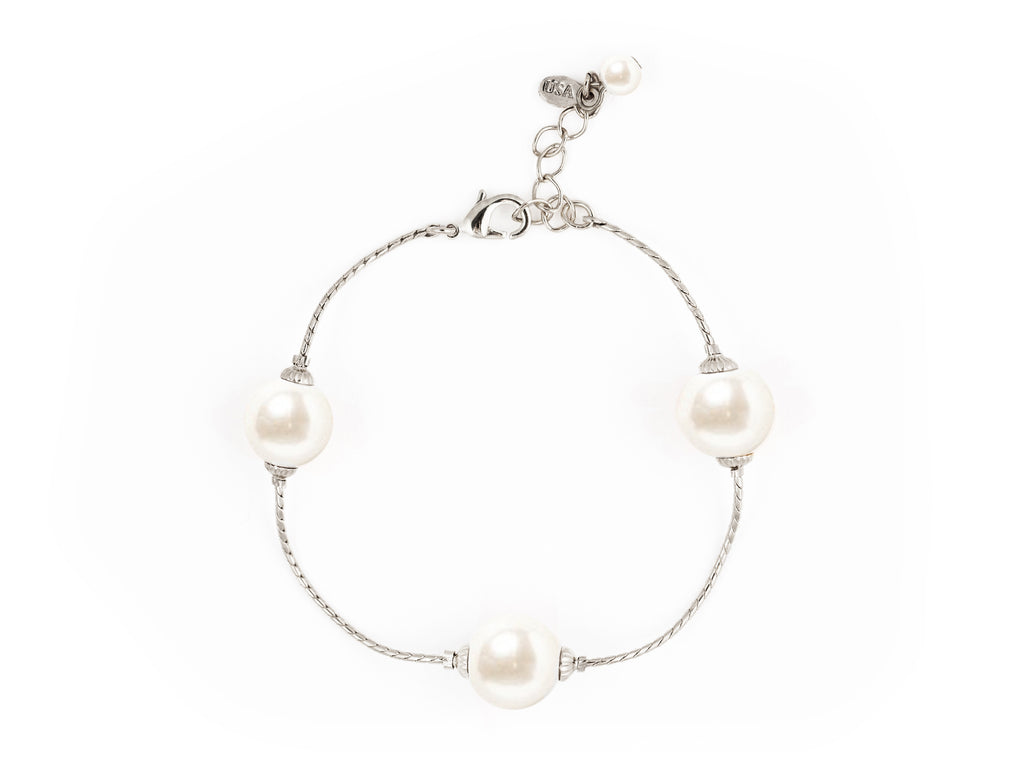 Pearlfection Bracelet - Silver