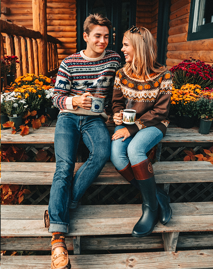 The Cozy Pumpkin Sweater