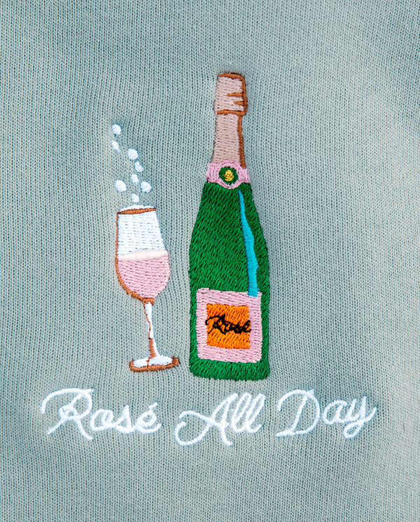 Rose All Day Crewneck