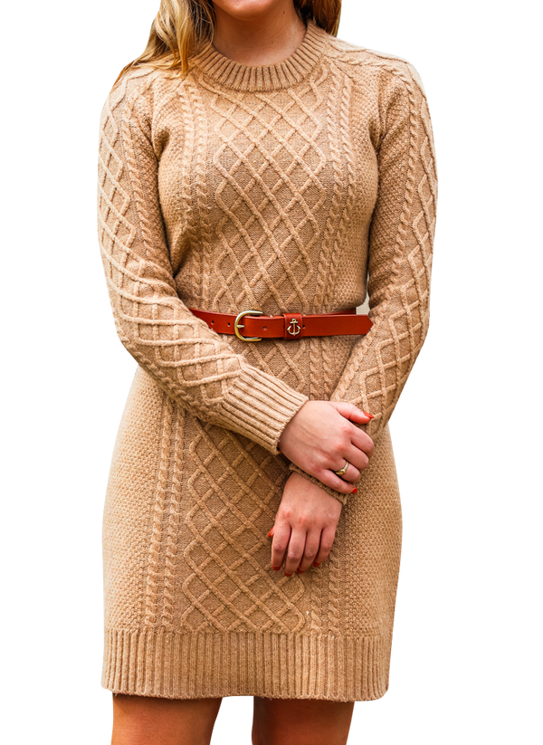 The Harvest Knit Sweater Dress