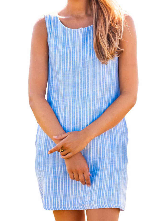 Ocean Breeze Shift Dress