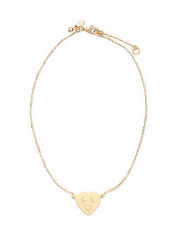 Sweetheart Monogram Necklace