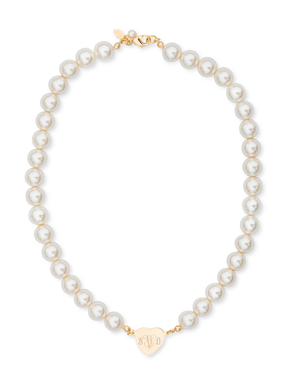 Sweetheart in Pearls Necklace