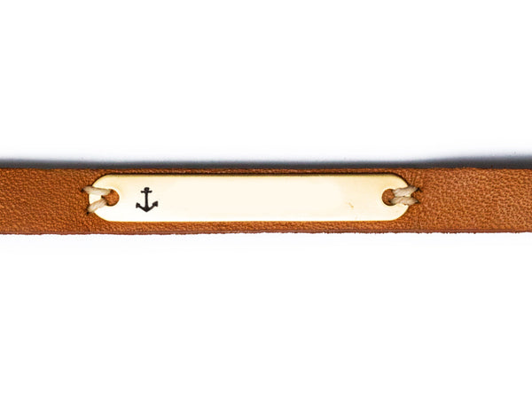 Sailor Tattoo Bracelet - Tan
