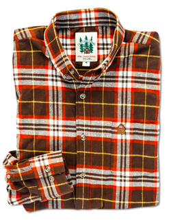 Pinecone Picnic Flannel Shirt