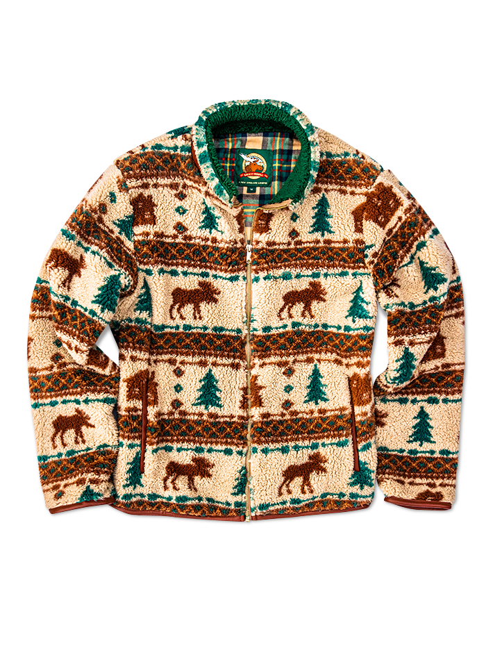 The Great Moose Fleece
