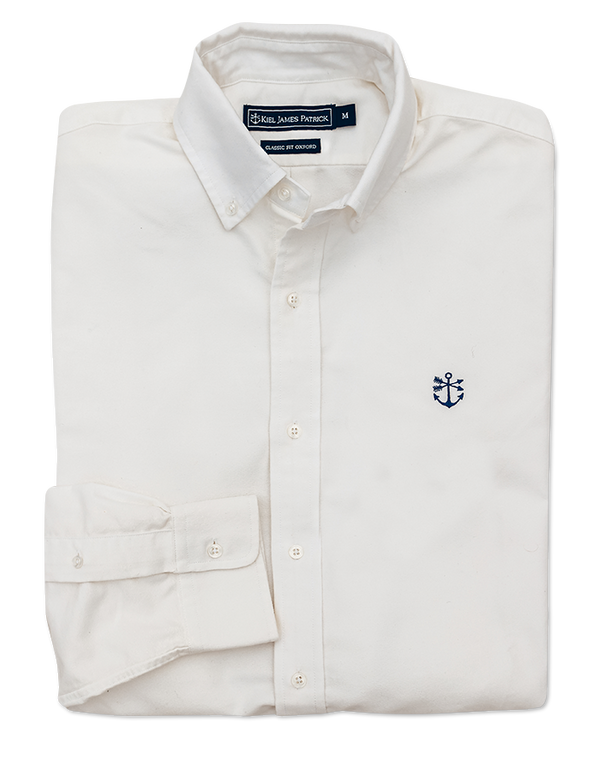 Hyannisport White Oxford