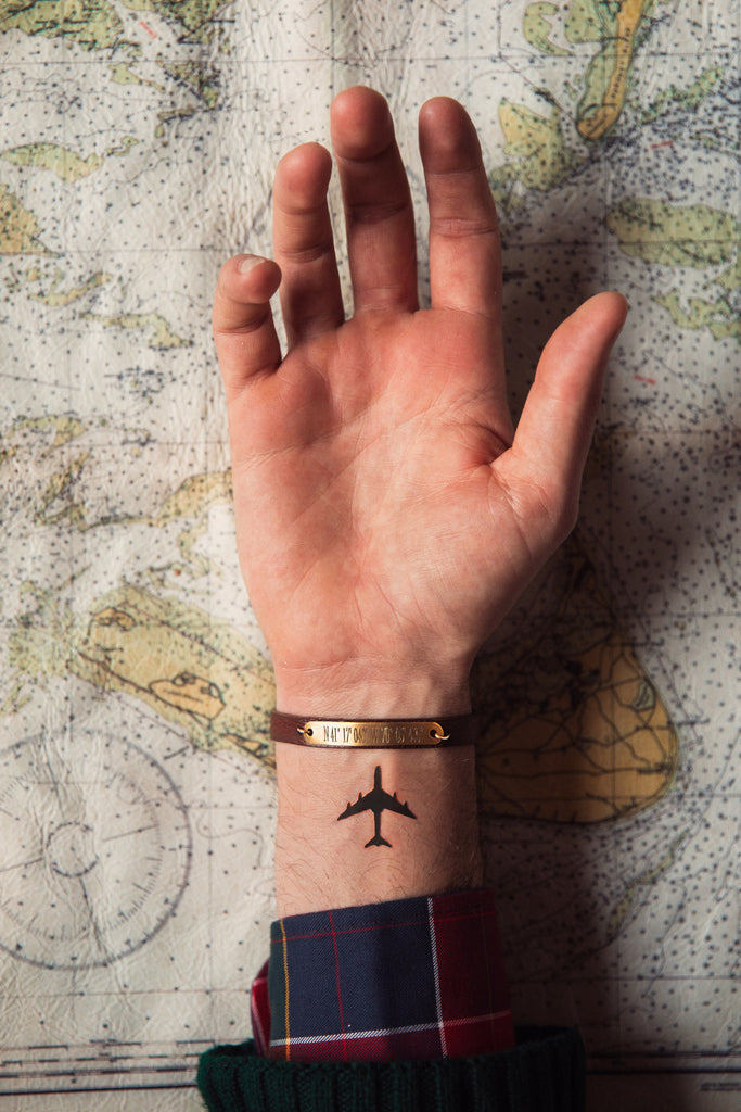 World Traveler's Bracelet - Black