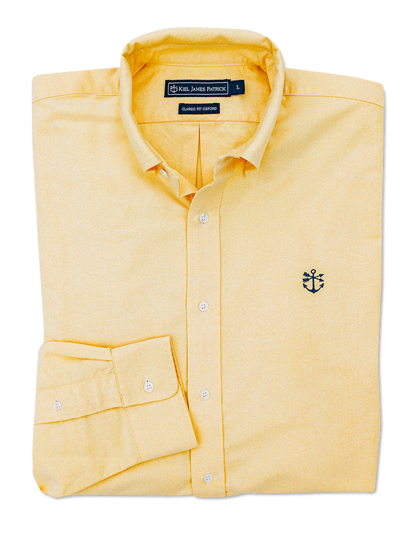 Watch Hill Yellow Oxford