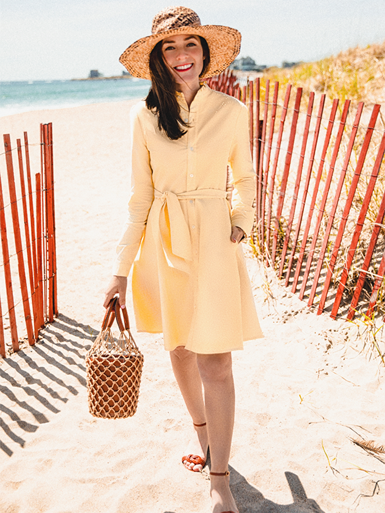 Cape Summering Dress