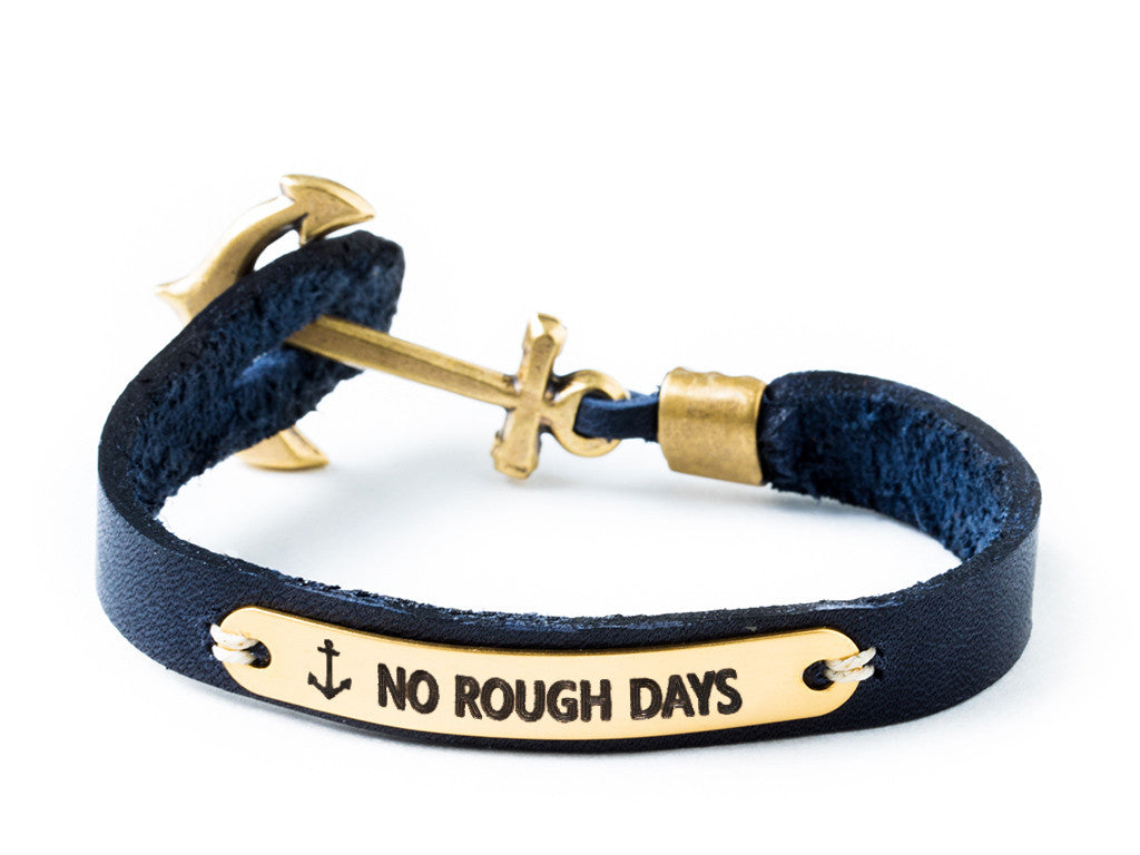 Sailor Tattoo Bracelet - Navy