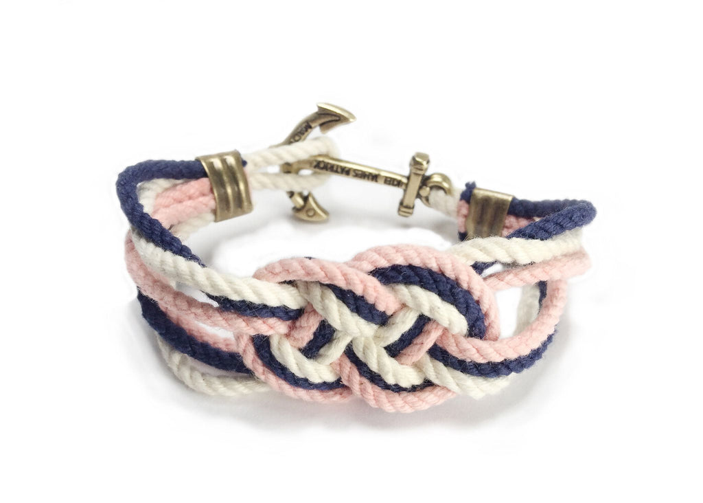 Anchored To Do Good - Kiel James Patrick Anchor Bracelet Made in the USA
