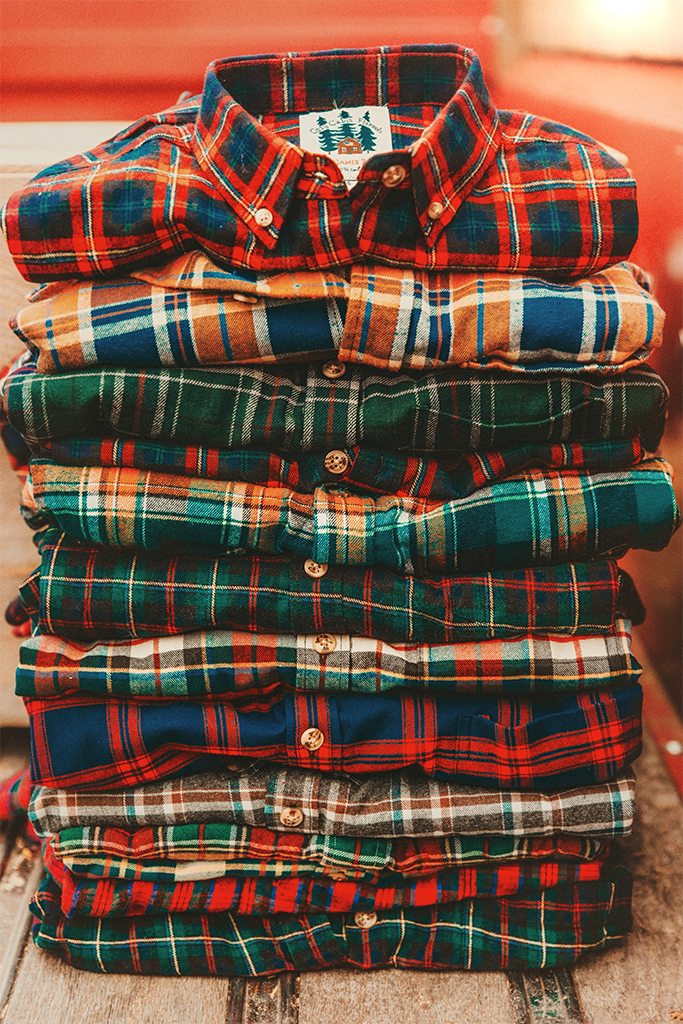 Home for the Holidays Flannel