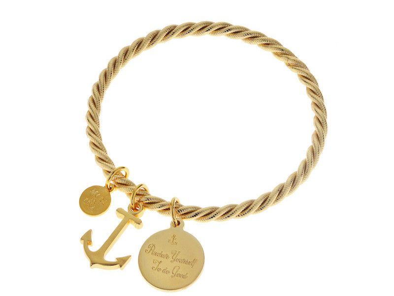 Braided Together - Kiel James Patrick Anchor Bracelet Made in the USA