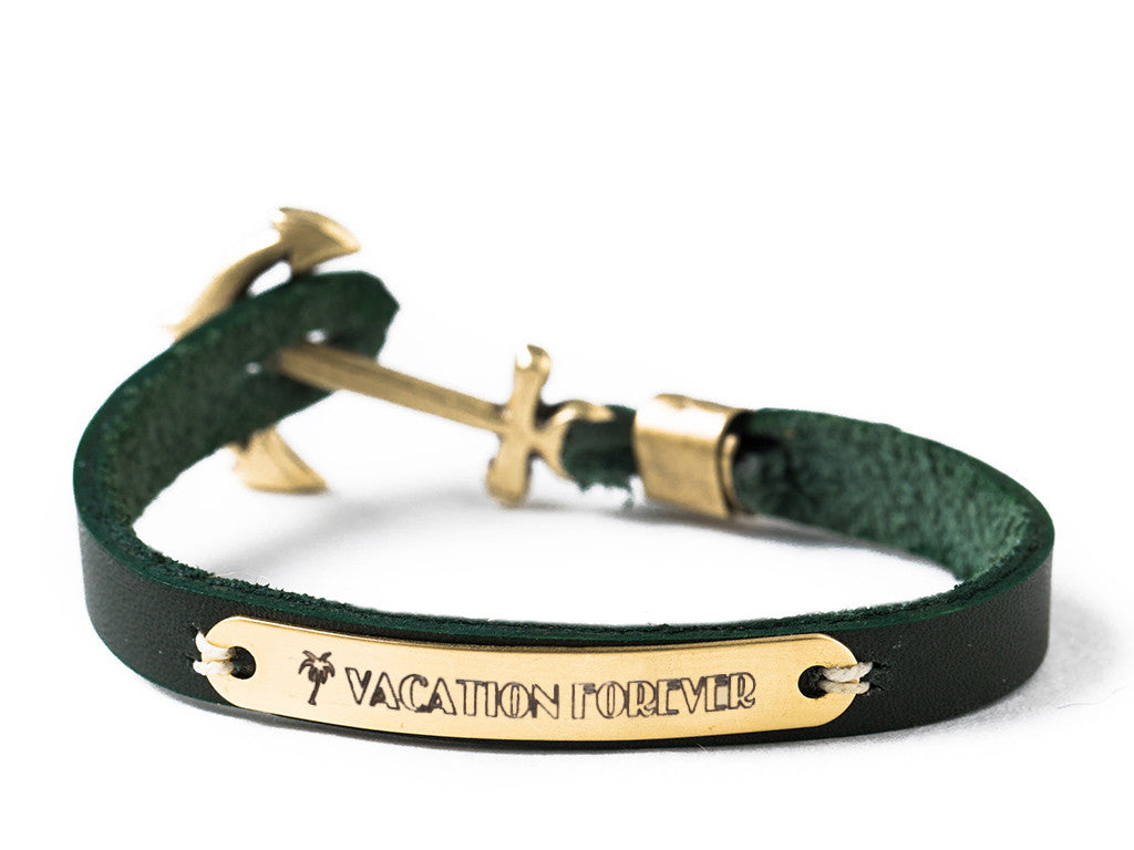 Sailor Tattoo Bracelet - Green