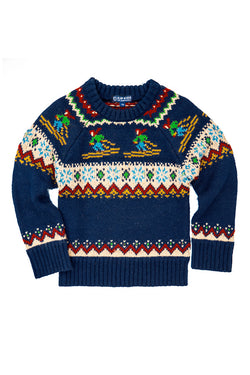 Hit the Slopes Kids Sweater