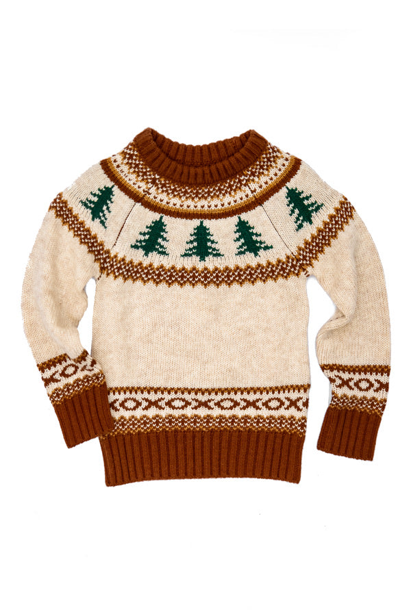 The Evergreen Kids Sweater