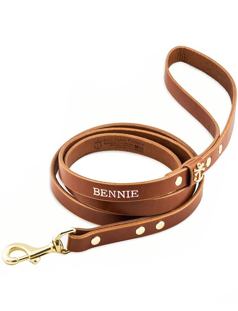 Pawsonalized Leather Dog Leash