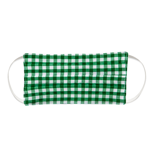 Green Gingham Mask