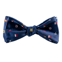 Mixed Signals Bow Tie